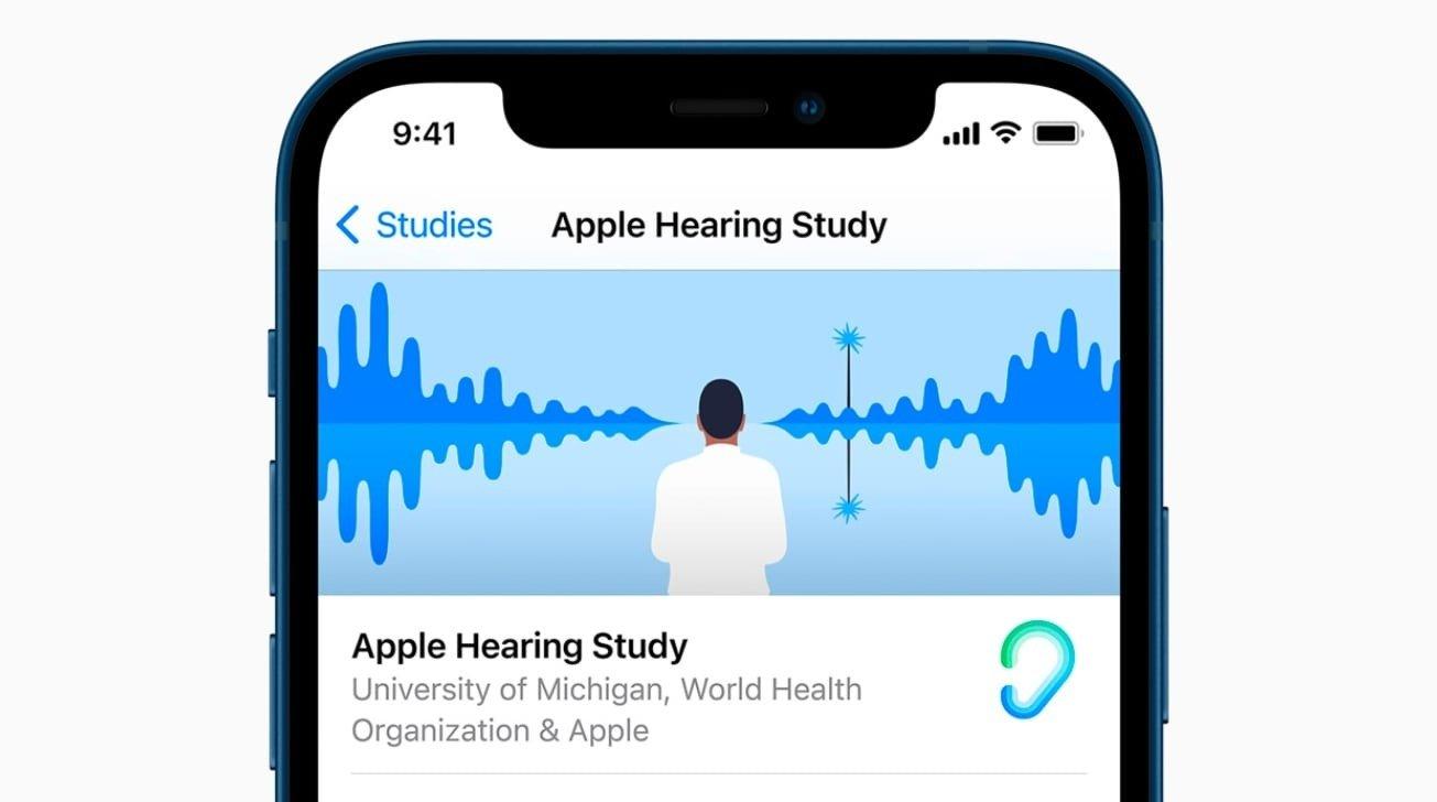 تست شنوایی Apple Research
