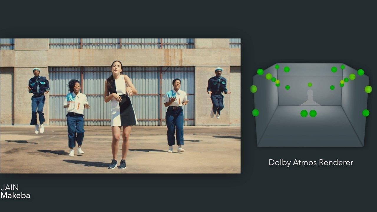 این موزیک ویدیو با استفاده از نرم افزار 3D Dolby Atmos ساخته شده است