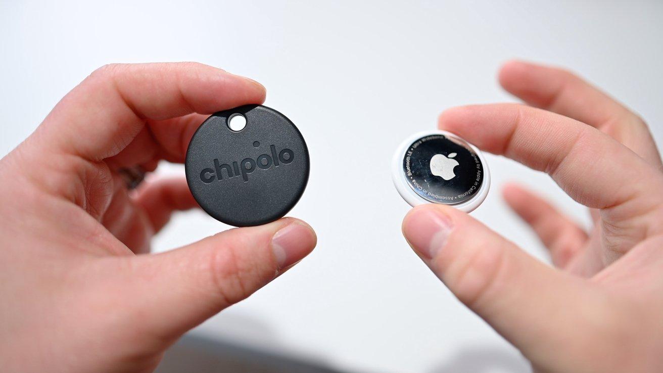 Chipolo ONE Spot و AirTag