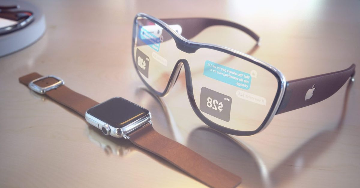 AssistiveTouch اپل واچ برای کنترل عینک اپل