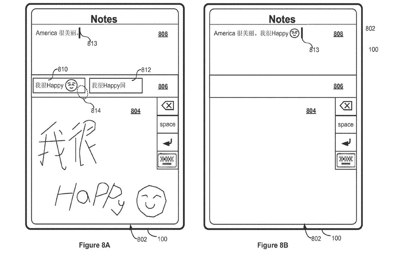 به نظر می رسد حق ثبت اختراع مشابه ویژگی موجود Scribble است