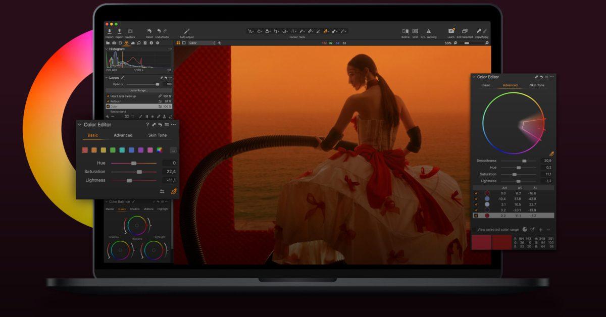 Capture One Photo Editor اکنون برای M1 Mac بهینه شده و تا 100٪ کارایی دارد