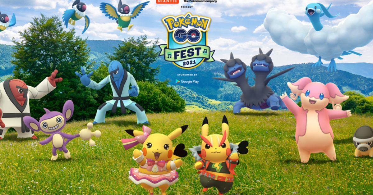 Niantic تاریخ Pokémon GO Fest 2021 را اعلام می کند