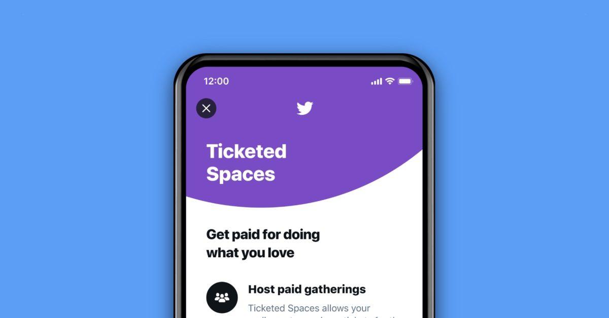 توییتر Ticketed Spaces را اعلام می کند که به زودی برای کاربران در ایالات متحده منتشر خواهد شد